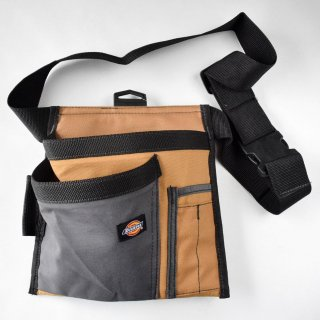 ★USA PRODUCT☆Dickies 5-Pocket Single Side Tool Pouch / Work Apron, Tan / 57026 /