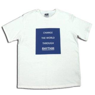 CHANGE THE WORLD Tシャツ ホワイト