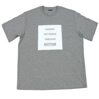 CHANGE THE WORLD Tシャツ グレー