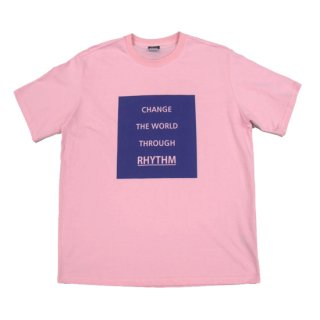 CHANGE THE WORLD Tシャツ ピンク