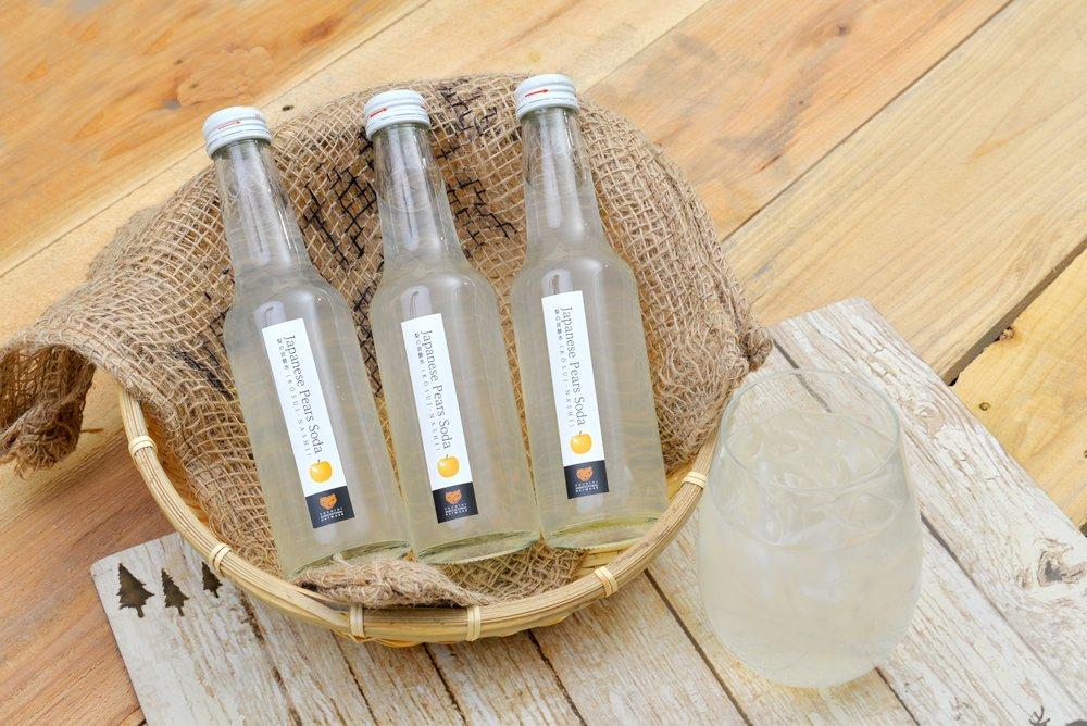 完熟梨の炭酸水250㎖ 6本セット