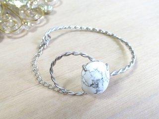 グランドベル ブレスレット マグネサイト Stone Circle【受注生産】