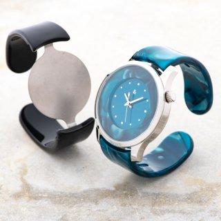 54bfd84166 眼鏡職人が作った「腕にかける」新感覚の腕時計 鯖江バングルウォッチ ...