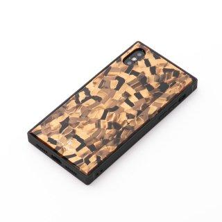 iPhoneケース ゴールドモザイク