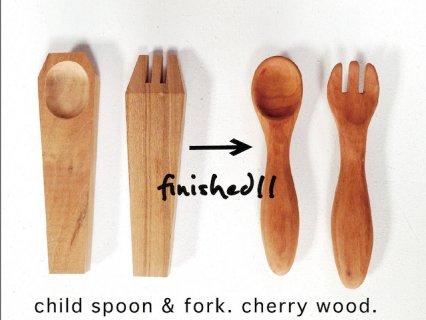 Child spoon &  fork - チャイルドスプーン&フォーク