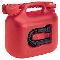 hunersdorff Fuel Can PREMIUMI 5L -ヒューナースドルフ 5Lレッド