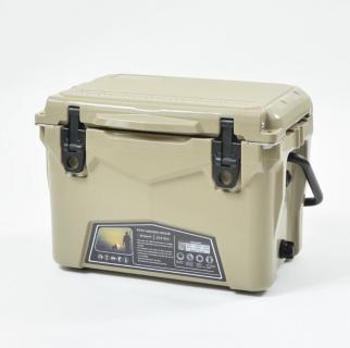 【送料無料】ICE AGE coolers - クーラーボックス タンカラー 20QT