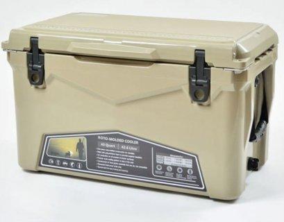 【送料無料】ICE AGE coolers - クーラーボックス タンカラー 45QT