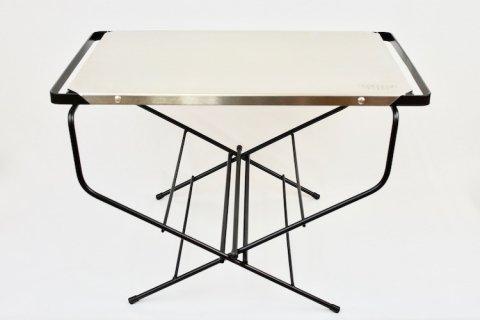 HangOut - ファイヤーサイドテーブル ステンレストップ