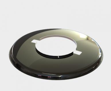 Vapalux M320用ライトシェード - ブラック