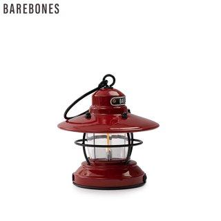 2020年新商品 Barebones LivingミニエジソンランタンLED レッド