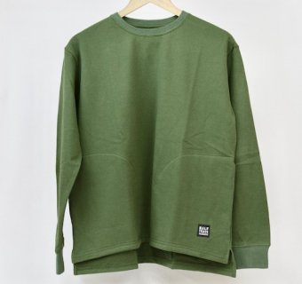 HALF TRACK PRODUCTS  LONG pocket T - オリーブ