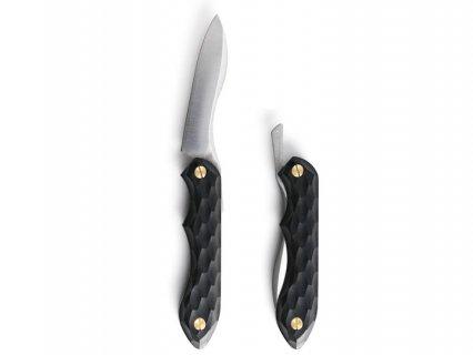FEDECA 折畳式料理ナイフ - 名栗ブラック