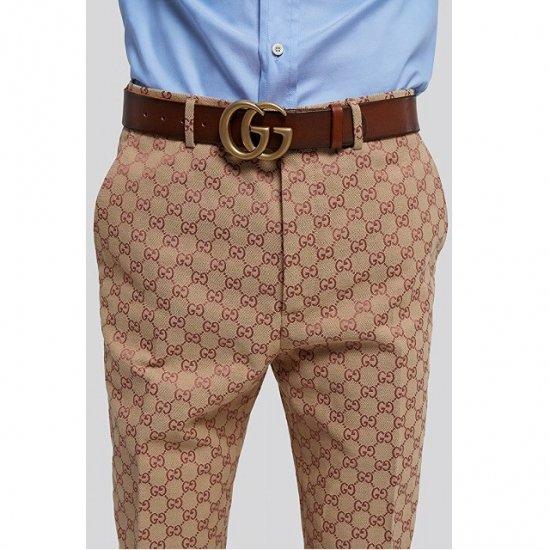 the latest 2396a 1f861 【最新作】 GUCCI グッチ GG Anagram trouser GGアナグラム トラウザー / パンツ メンズ