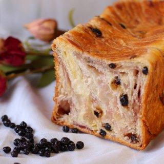 【甘酸っぱいブルーベリー】スイーツ デニッシュ ブルーベリー 1斤(おやつにも朝食にもぴったりのデニッシュ 食パン)