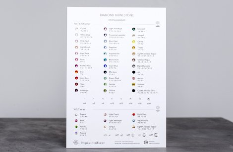 Swatch Board - Product Samples