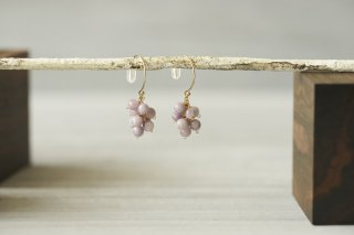 pierce 「森のおたのしみ-purple jade-」