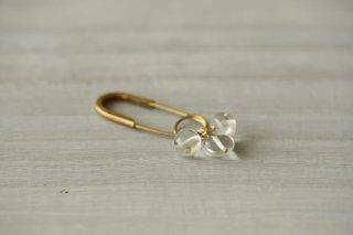 brooch 「恵まれた季節」crystal