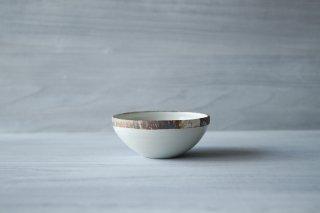 伊豆土 リム5寸鉢 (白)