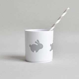 Buddy and Bear / Happy Clouds - Tumbler White Edition 250ml プラスチックタンブラー 電子レンジ・食器洗浄機使用可 【ゆうパケット利用不可。】