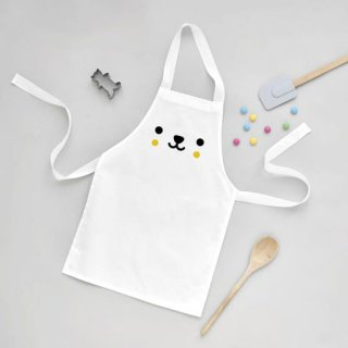 Buddy and Bear / Bear - Toddler Apron キッズエプロン