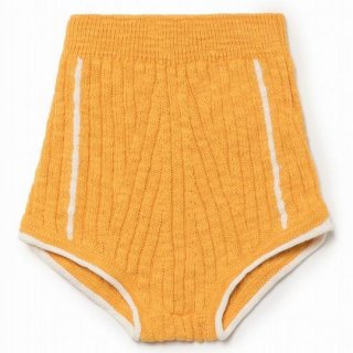 【40%OFF!】BOBO CHOSES / Yellow Knitted Culotte/KIDS