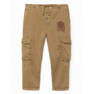 【50%OFF!】BOBO CHOSES /Know Cargo Linen Pants
