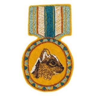 Coral&Tusk / chipmunk medal ブローチ