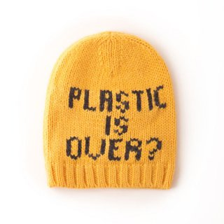 【30%OFF!】BOBO CHOSES [ボボショーズ] / Plastic is Over? Gold beanie