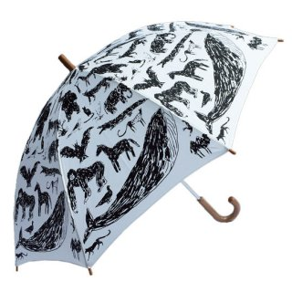 chocolatesoup / KIDS UMBRELLA Tanaka Kentarou / animal / WHITE