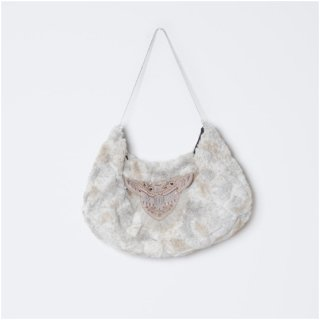 【40%OFF!】Kitica / kitica×atsumi bag / white