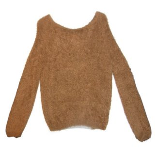 【40%OFF!】Kitica / moke knit pullover / camel