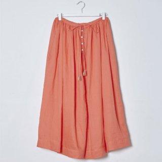 【40%OFF!】Kitica [キチカ] / linen gather パンツ / orange / S
