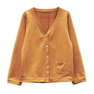 【40%OFF!】LE PETIT GERMAIN [ル プチ ジェルマン] / HIPPI Cardigan 100% fleece cotton / Melon