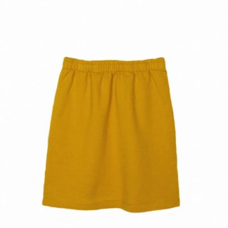 【40%OFF!】LE PETIT GERMAIN / JOLI Fleece Skirt / Safran / Mustard