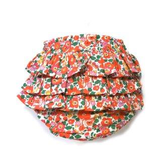 mimi poupons [ミミプポン] / フリルパンツ / リバティ / ベッツィーRED LIBERTY 生地使用