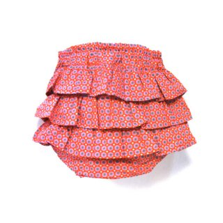 mimi poupons [ミミプポン] / フリルパンツ / Petit Pan / ミッコ・ルージュ プチパン生地使用