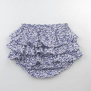 mimi poupons [ミミプポン] / フリルパンツ / LIBERTY リバティ グレンジェイド