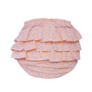 mimi poupons [ミミプポン] / フリルパンツ / Petit Pan / オキコ・ローズ・ペタル プチパン生地使用