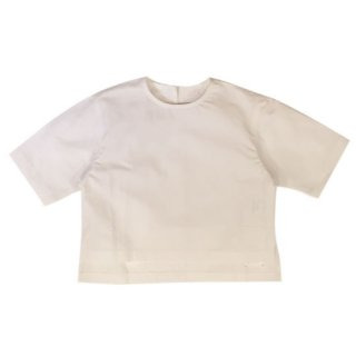 WONDER FULL LIFE [ワンダフルライフ] BLOUSE(KIDS) white