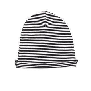【20%OFF!】MINGO. / Beanie jersey b/w stripes