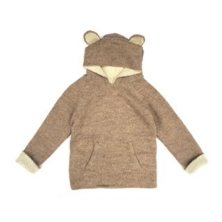 【40%OFF!】Waddler [ワドラー] / Reversible Animal Hoodie / oatmeal and white