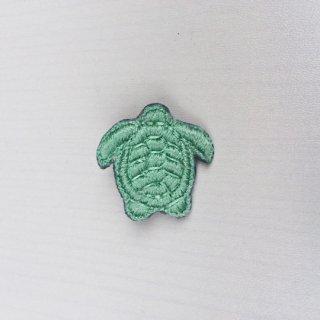 【30%OFF!】Sophia 203 / TINY TURTLE BROOCH / 32-LIGHT LAGOON GREEN