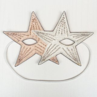 【30%OFF!】Sophia 203 / LUCKY STAR MASK / 94/01-NUDE X WHT METAL