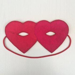 【30%OFF!】Sophia 203 / LOVE MASK / 27/45-FUSHIA X RED