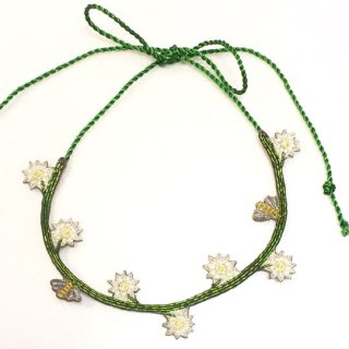 【30%OFF!】Sophia 203 [ソフィア203] / BUZZY DAISY NECKLACE / IVORY ネックレス