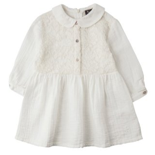 【40%OFF!】tocoto vintage [トコトヴィンテージ] / W3917. LACED DRESS / ECRU レースドレス