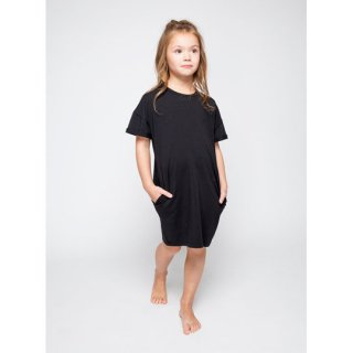 MINGO. [ミンゴ] T-Shirt Dress / black