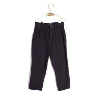 WOLF&RITA [ウルフアンドリタ] /  ANDRÉ - Trousers / BLACK - FLANNEL