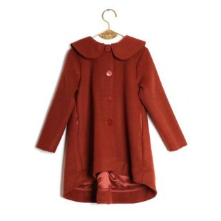 【40%OFF】WOLF&RITA [ウルフアンドリタ] /  MADALENA - Coat / BRICK - MERINO WOOL